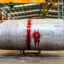 Pressure vessel fabrication - Inspection