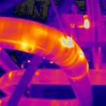 Thermal imaging - corrosion under insulation - survey - inspection - drone - UAV