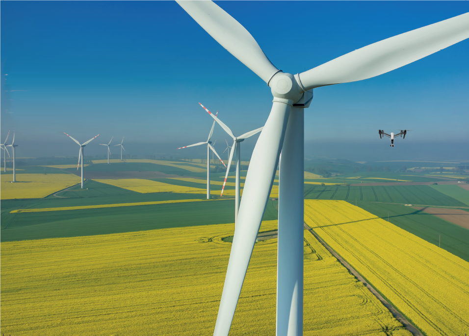Inspection - wind towers - uav - drone - asset - condition assessment - wind turbine