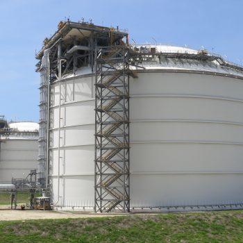 LNG - Tanks - Asset - Condition - Corrosion - Survey - CUI