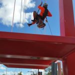 Rope access - bridges - coating - inspection - Queensland