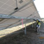 Solar farm - condition survey - coating inspector