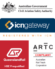Civil Aviation Safety Authority, ICN Gateway, Queensland Rail, ARTC Compliant
