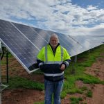 Solar Farm - inspection